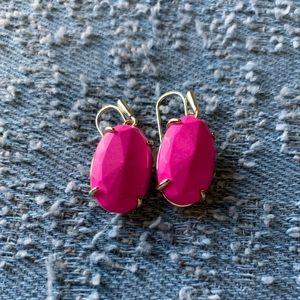 Hot Pink Kendra Scott Earrings